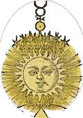 Illustrasjon från 'Geheime Figuren der Rosenkreuzer aus dem 16. und 17. Jahrhundert'